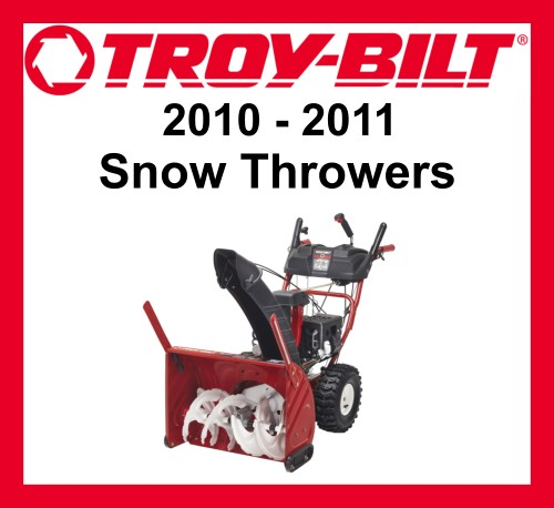 2010-11 Troy-Bilt Snowthrowers