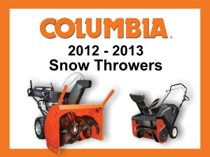 Columbia winter 2012-2013
