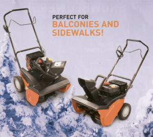 MTD's Columbia Snowblowers 65021MS and 420021MS