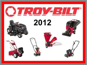 Troy-Bilt 2012