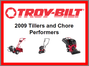 Troy-Bilt Summer 2009